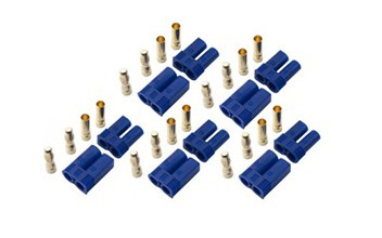 RJX EC5 Connector, Male/Female (5pairs)