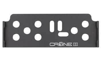 GAUI Crane III Camera Base Plate (Titanium Color)