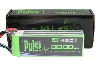PULSE 'Ultra Power' 6S Li-Poly Battery (3300mAh / 45C)
