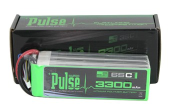 "PULSE ""Ultra Power"" 6S Li-Poly Battery (3300mAh / 65C)"