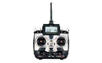 Hitec ECLIPSE 7 PRO 7-Ch 2.4 GHz Transmitter (with 2 7-ch receivers)