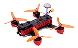 DYS Lightning X220 FPV Race Copter, Receiver Ready